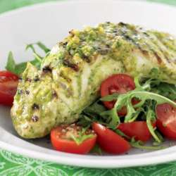 Barbecue-pesto-fish