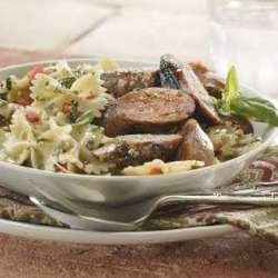 Grilled-Sausage-and-Pesto-Pasta