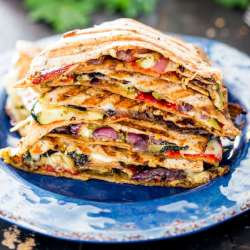 Grilled-Vegetable-Quesadillas