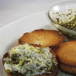 Pesto-Cream-Cheese-Dip