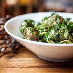 Pesto-Meatballs