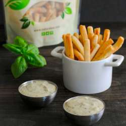 Pesto-Ranch-Dipping-Sauce