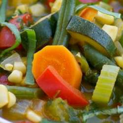 Vegetable-Soup-with-Pesto