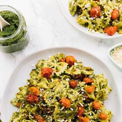 20-Minute-Vegan-Pesto-Pasta