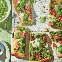 Pea-Pesto-Flatbread