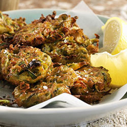Pesto-Fritters
