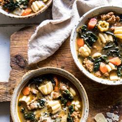 Spicy-Italian-Pesto-Noodle-Soup
