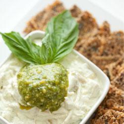 Artichoke-Pesto-Dip
