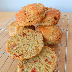 Cheese,-Sundried-Tomato-&-Pesto-Scones