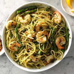 Pesto-Shrimp-Pasta