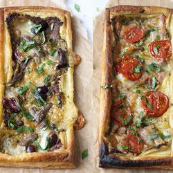 Pesto-Mozzarella-Tart-Three-Ways