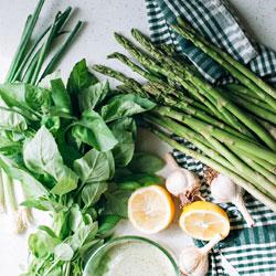 Asparagus-Pesto