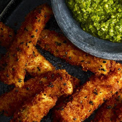Haddock-Goujons-with-Parmesan-Crust-and-Pea-Pesto