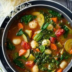 Gnocchi-Vegetable-Soup-with-Pesto