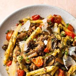 Sausage-Pesto-Pasta